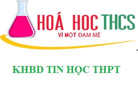 KHBD TIN HỌC THPT