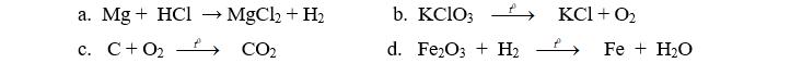 Đề thi học kì 2 môn hóa học 8 đề số 09