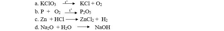 Đề thi học kỳ 2 môn hóa học 8 đề số 08