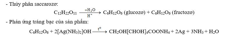 Khi thủy phân hợp chất hữu cơ X (không có phản ứng tráng bạc) trong môi trường axit rồi trung hòa axit thì dung dịch thu được có phản ứng tráng bạc. X là