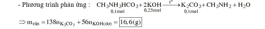 Chất X có công thức phân tử C2H7O3N
